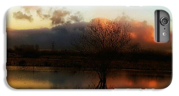 Light iPhone 6 Plus Case - Sunset Reflections by YoursByShores Isabella Shores