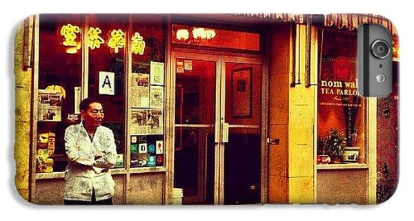 City iPhone 6 Plus Case - Taking A Break In Chinatown by Luke Kingma