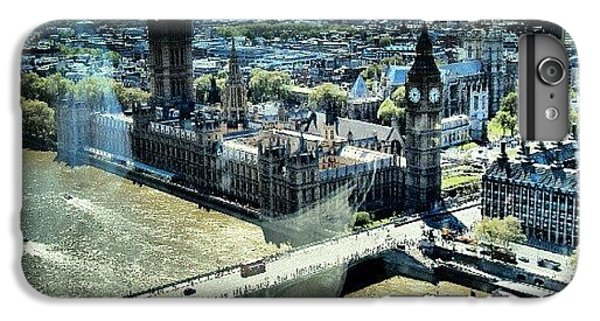 London iPhone 6 Plus Case - Thames River, View From London Eye | by Abdelrahman Alawwad