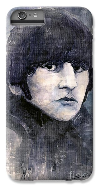 Musician iPhone 6 Plus Case - The Beatles Ringo Starr by Yuriy Shevchuk