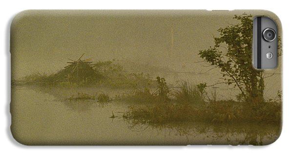 The Lodge In The Mist IPhone 6 Plus Case by Skip Willits