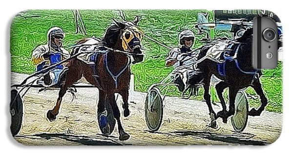 Ohio iPhone 6 Plus Case - The Long Tail Filly & The Big Black by Natasha Marco