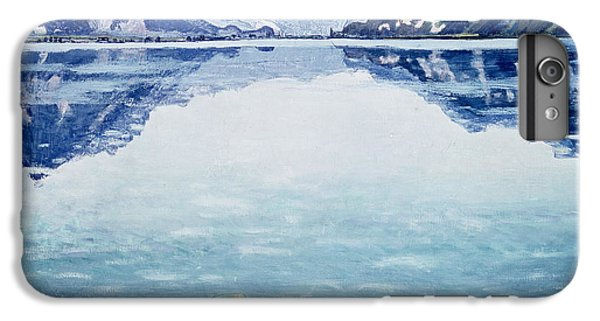 Mountain iPhone 6 Plus Case - Thunersee Von Leissigen by Ferdinand Hodler