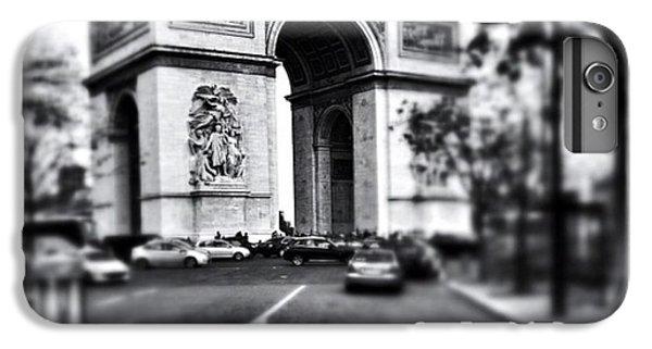 #today #paris #monument #bnw #monotone IPhone 6 Plus Case by Ritchie Garrod