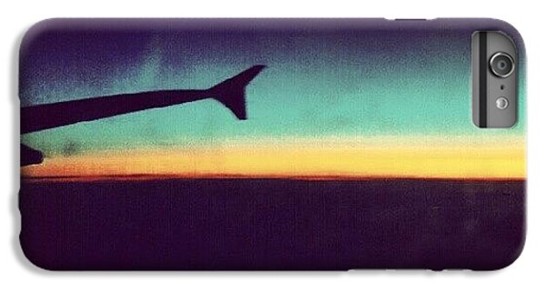 London iPhone 6 Plus Case - Up In The Air :) On My Way To #london by Abdelrahman Alawwad
