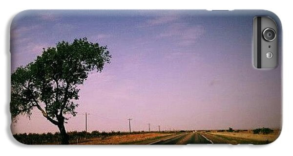 #usa #america #road #tree #sky IPhone 6 Plus Case