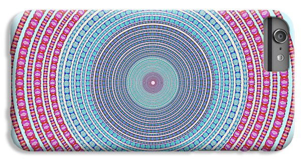 Magician iPhone 6 Plus Case - Vintage Color Circle by Atiketta Sangasaeng