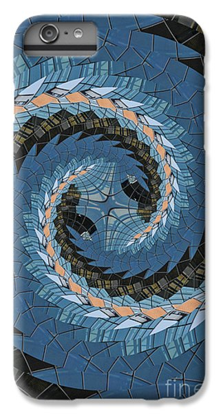 Wave Mosaic. IPhone 6 Plus Case by Clare Bambers