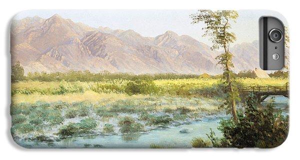 Barren iPhone 6 Plus Case - Western Landscape by Albert Bierstadt