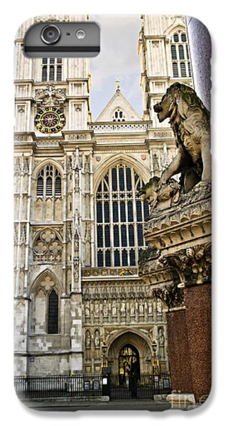 Westminster Abbey IPhone 6 Plus Case by Elena Elisseeva