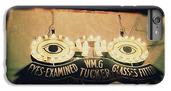 Light iPhone 6 Plus Case - Wm.g Tucker Glasses by Natasha Marco