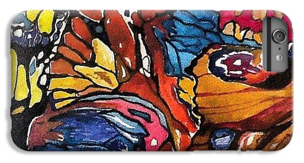 iPhone 6 Plus Case - Butterflies Wings........ by Sandra Lira