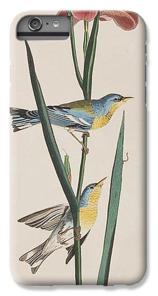 Blue Yellow-backed Warbler IPhone 6 Plus Case by John James Audubon