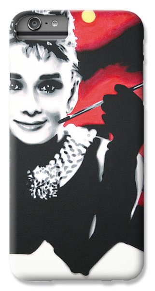 - Breakfast At Tiffannys -  IPhone 6 Plus Case by Luis Ludzska
