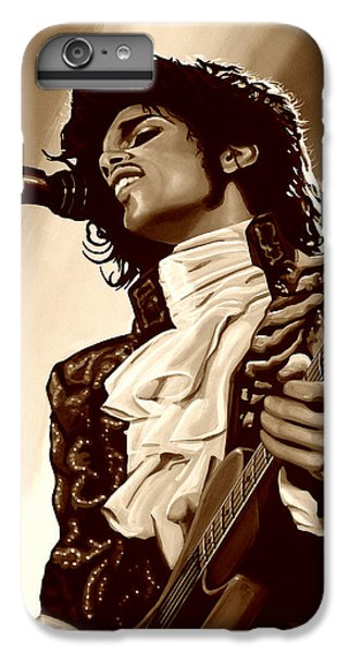 Prince The Artist IPhone 6 Plus Case by Paul Meijering