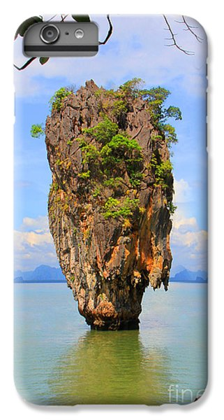 007 Island IPhone 6 Plus Case by Mark Ashkenazi