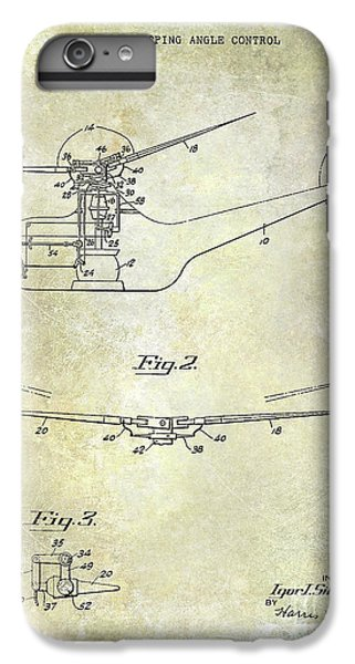 1947 Helicopter Patent IPhone 6 Plus Case by Jon Neidert