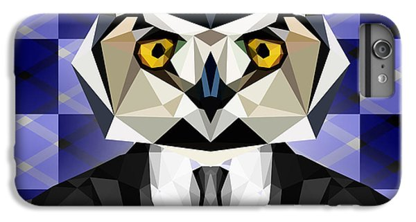 Abstract Owl IPhone 6 Plus Case