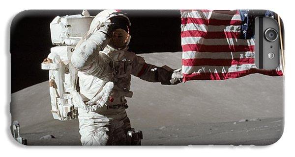 Apollo 17 Astronaut Salutes The United IPhone 6 Plus Case