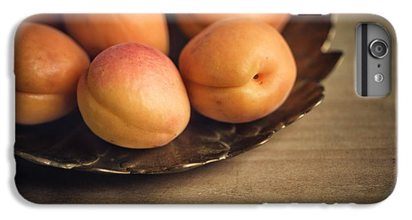 Fruit iPhone 6 Plus Case - Apricots by Nailia Schwarz