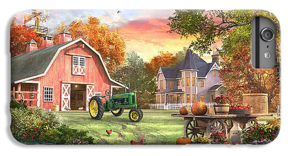 Geese iPhone 6 Plus Case - Autumn Farm by Dominic Davison