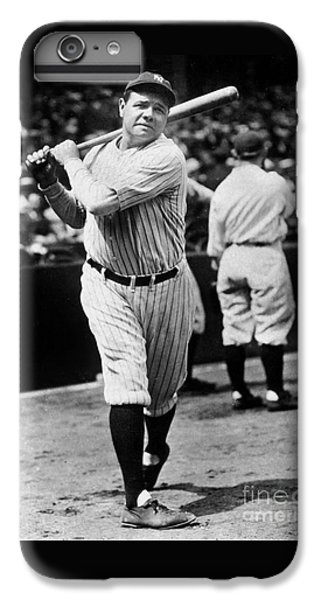Babe Ruth IPhone 6 Plus Case by American School
