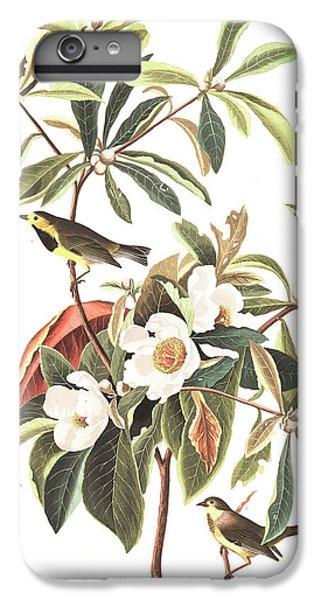 Bachman's Warbler  IPhone 6 Plus Case by John James Audubon