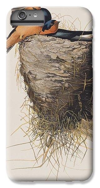 Barn Swallow IPhone 6 Plus Case by John James Audubon