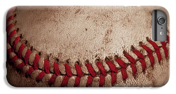 IPhone 6 Plus Case featuring the photograph Baseball Seams by David Patterson