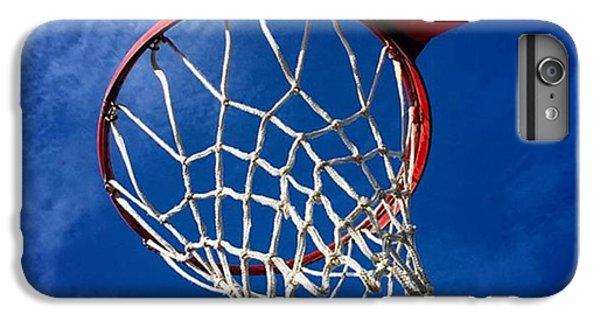 Sport iPhone 6 Plus Case - Basketball Hoop #juansilvaphotos by Juan Silva