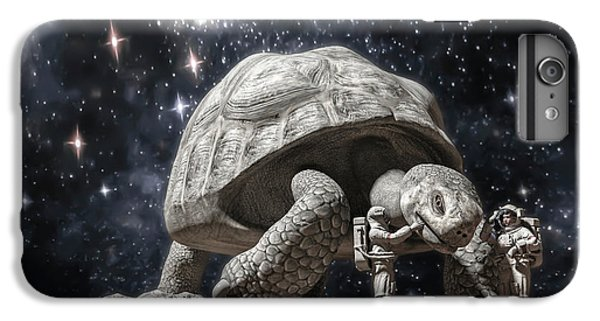 Tortoise iPhone 6 Plus Case - Beautiful Creatures by Betsy Knapp