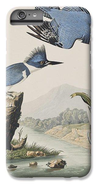 Kingfisher iPhone 6 Plus Case - Belted Kingfisher by John James Audubon