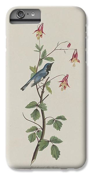 Black-throated Blue Warbler IPhone 6 Plus Case by Rob Dreyer