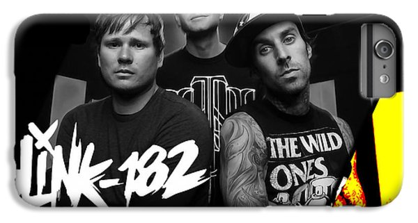 Blink 182 Collection IPhone 6 Plus Case by Marvin Blaine
