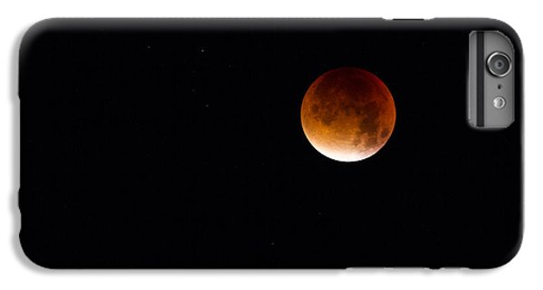 Blood Moon Super Moon 2015 IPhone 6 Plus Case