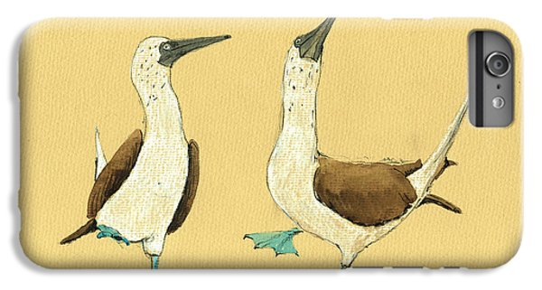Blue Footed Boobies IPhone 6 Plus Case