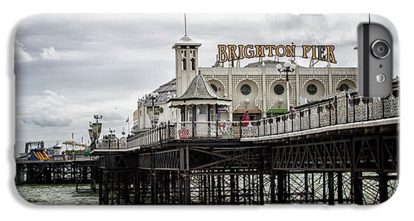 City Sunset iPhone 6 Plus Case - Brighton Pier by Martin Newman