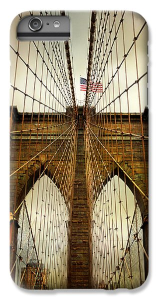 Brooklyn Bridge Twilight IPhone 6 Plus Case by Jessica Jenney