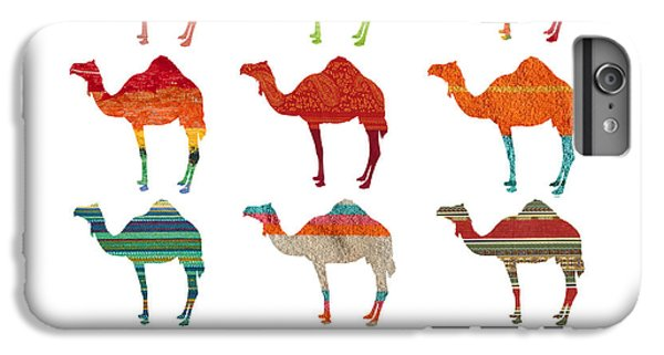 Camels IPhone 6 Plus Case by Art Spectrum