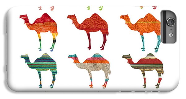 Camels IPhone 6 Plus Case by Art Spectrum