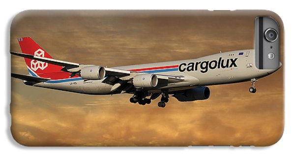 Jet iPhone 6 Plus Case - Cargolux Boeing 747-8r7 2 by Smart Aviation
