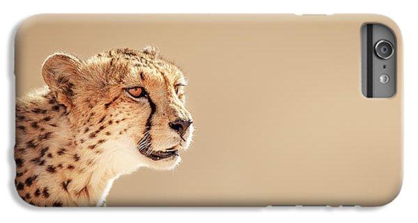 Cats iPhone 6 Plus Case - Cheetah Portrait by Johan Swanepoel