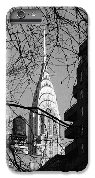 Chrysler Building And Tree IPhone 6 Plus Case by Dave Beckerman