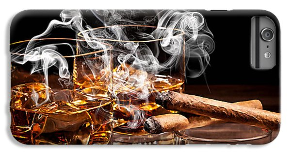 Cigar And Alcohol Collection IPhone 6 Plus Case