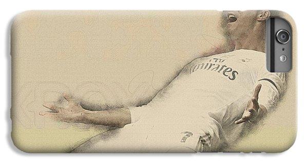 Wayne Rooney iPhone 6 Plus Case - Cristiano Ronaldo Reacts by Don Kuing