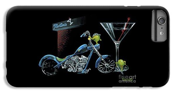 Motorcycle iPhone 6 Plus Case - Custom Martini by Michael Godard