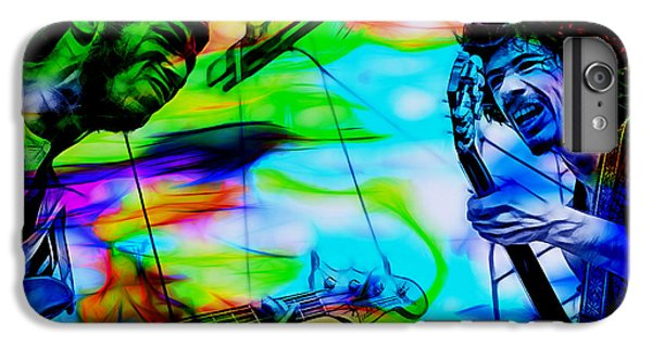 David Brown And Santana At Woodstock IPhone 6 Plus Case by Marvin Blaine