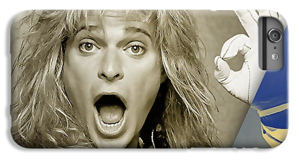 David Lee Roth Collection IPhone 6 Plus Case by Marvin Blaine