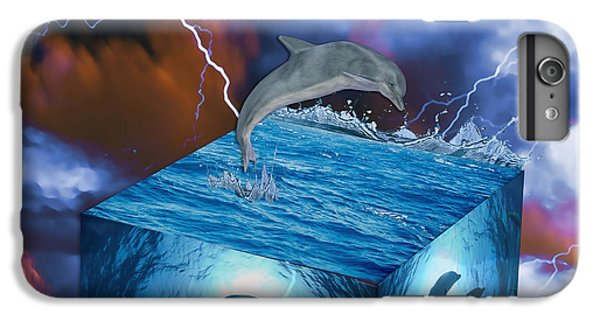 Dolphin Art IPhone 6 Plus Case