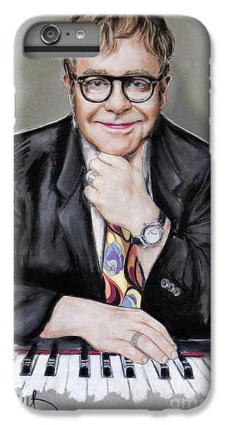 Elton John iPhone 6 Plus Case - Elton John by Melanie D
